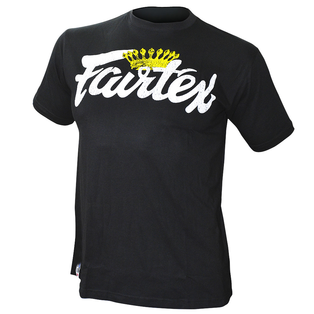 Футболка Fairtex Crown Tee T-shirt  TS36 Black