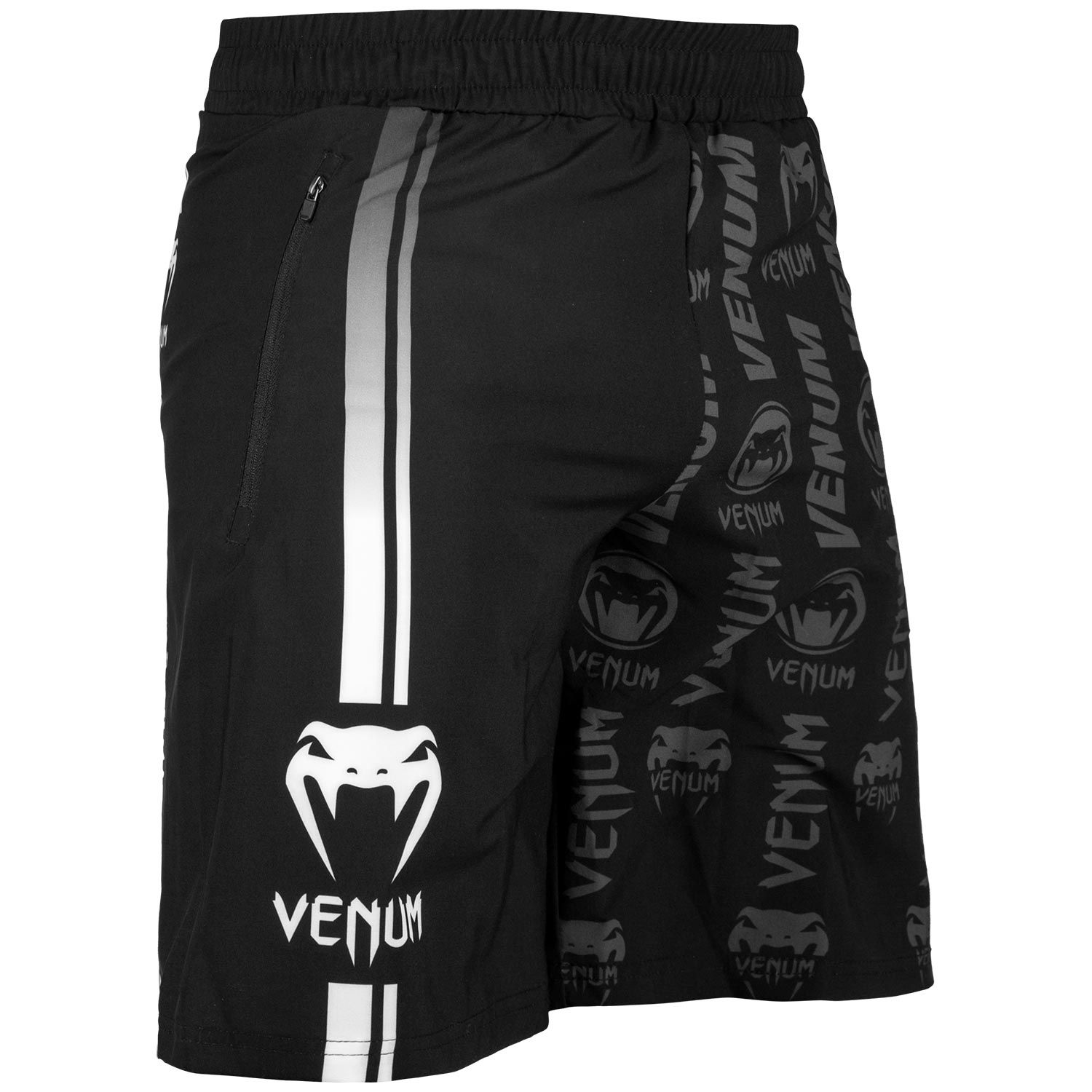 Шорты Venum Logos Training Shorts Black/White