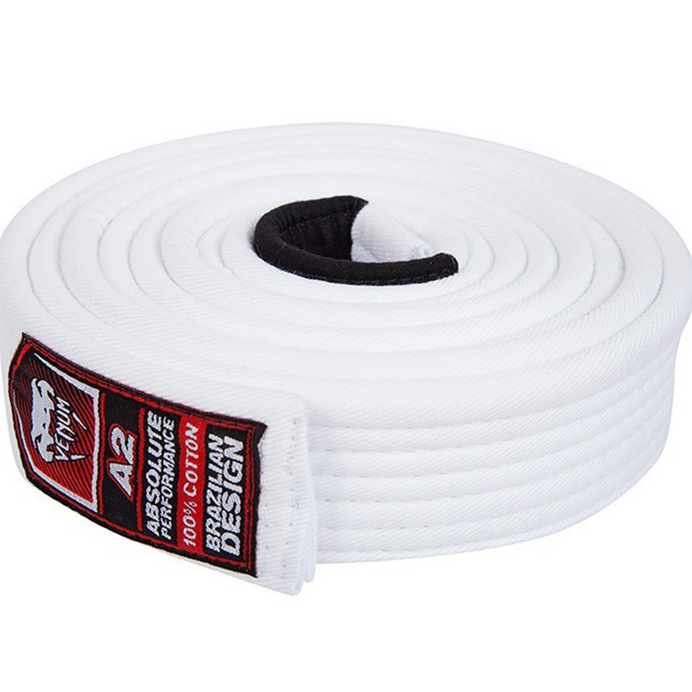 Пояс Venum BJJ Belt - White