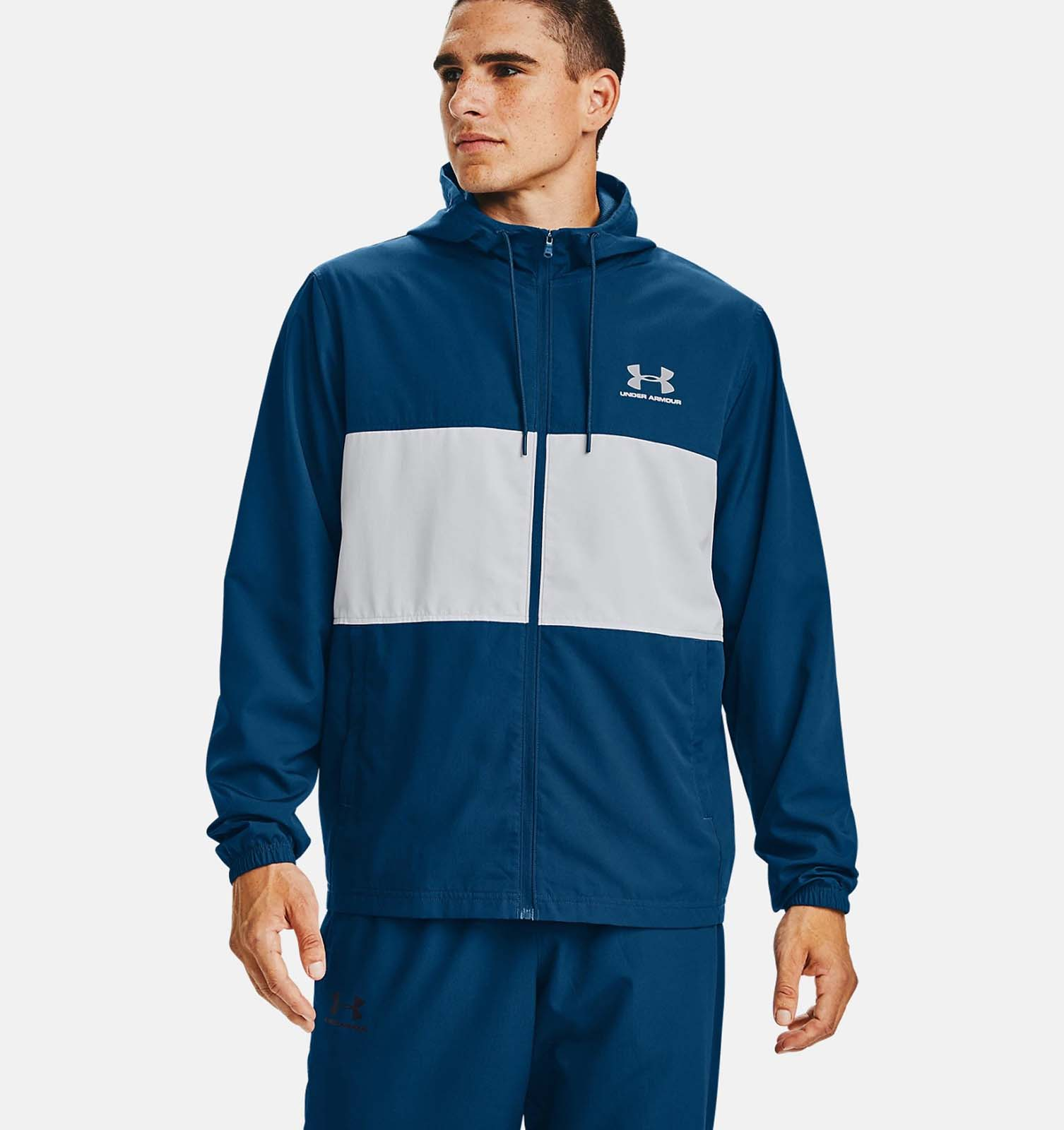 Ветровка SPORTSTYLE WIND JACKET Under Armour Синий