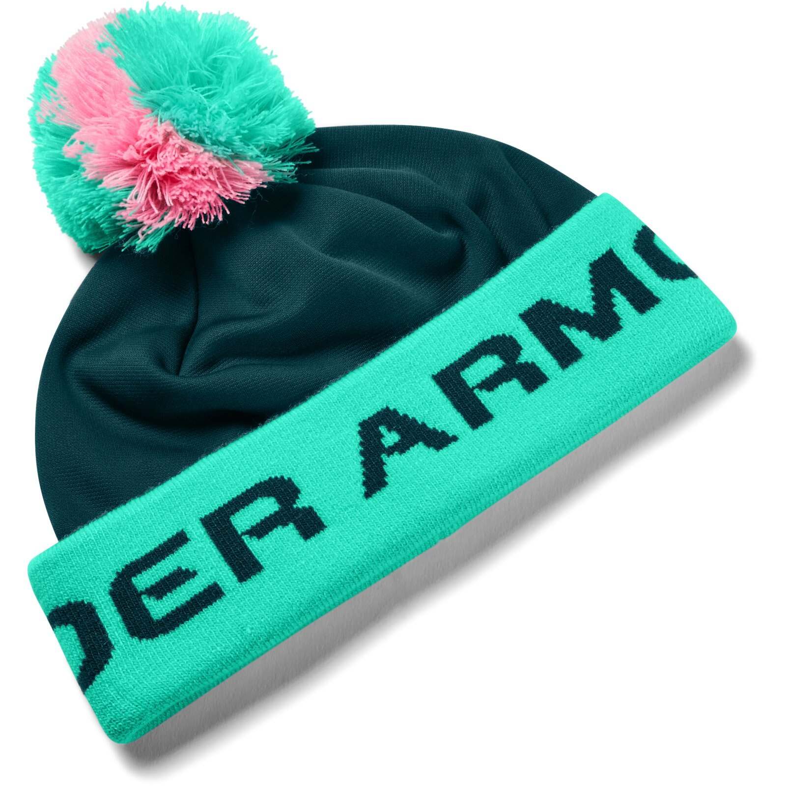 Шапка Boy's Gametime Pom Beanie Under Armour Разноцветный