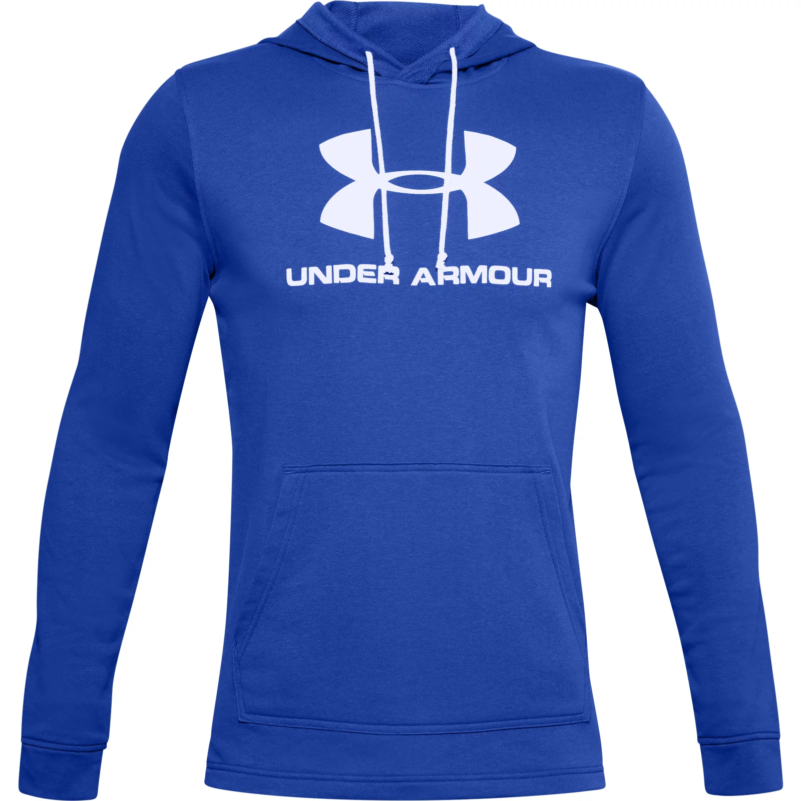 Толстовка Sportstyle Terry Logo Hoodie Under Armour Синий фото 3