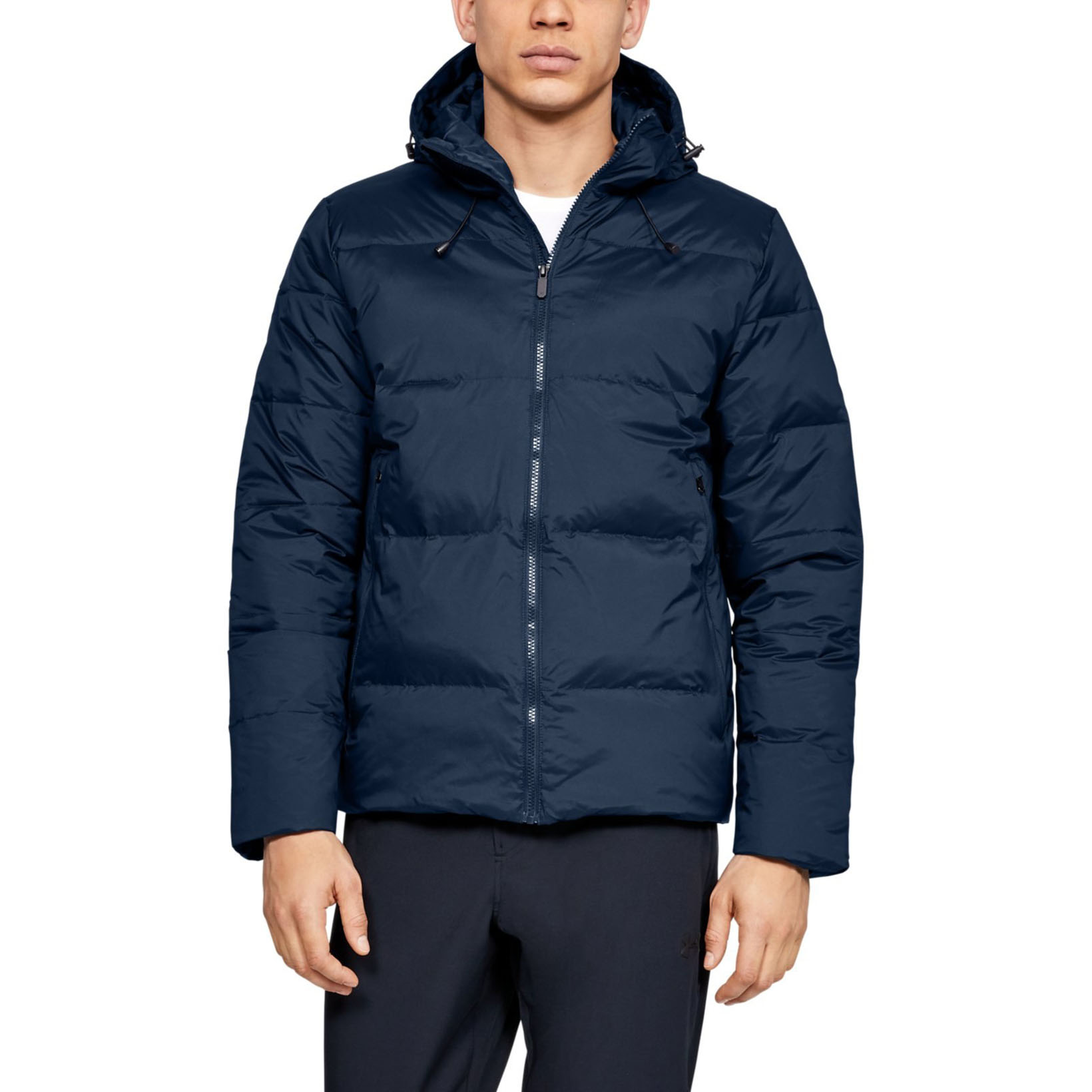 Пуховик Down 600 Fill Power Hooded Jacket Under Armour Синий