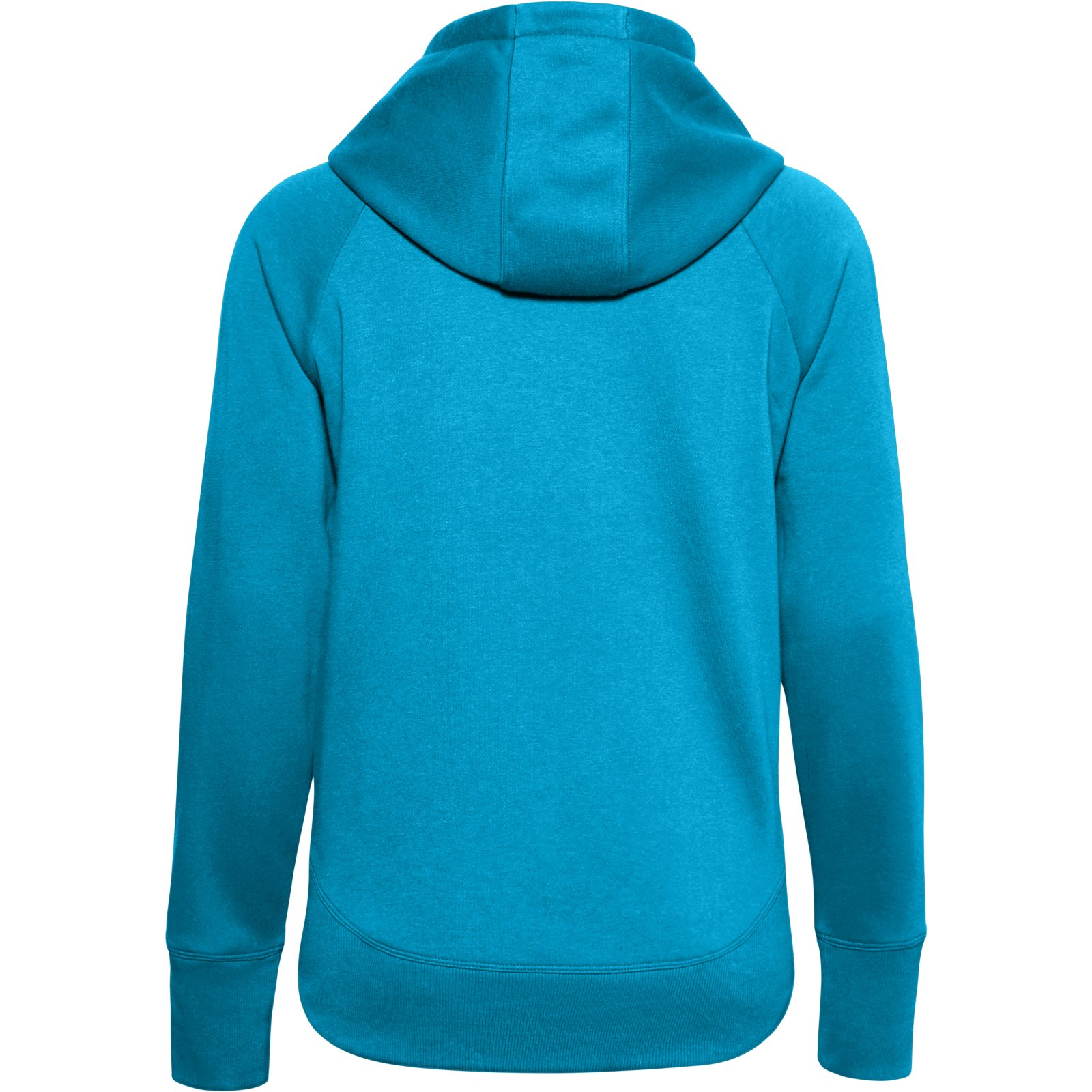 Худи Rival Fleece Metallic Hoodie Under Armour Синий фото 5