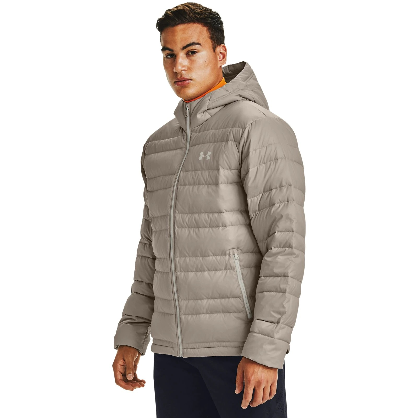 Пуховик Down Hooded Jacket Under Armour Коричневый