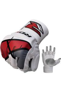 Перчатки для ММА RDX Grappling Gloves Rex T7 Red