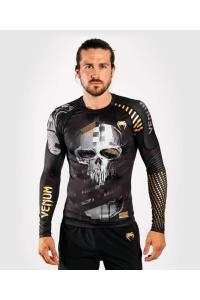 Рашгард Venum Skull Rashguard Long Sleeves  Black/Grey