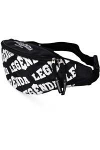 Сумка поясная Legenda Pattern Black/White