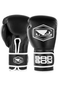 Перчатки для бокса Bad Boy Strike Boxing Gloves - Black