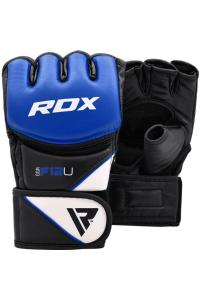 Перчатки для MMA RDX F12 Training Grappling Gloves Blue